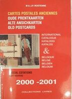 Cartes postales ancien cotations 2000-2001
