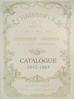 Catalogue Christofle 1842-1883