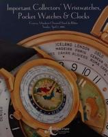 Auction Catalog Wristwatches, Pocket Watches & Clocks
