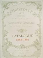 Catalogue Christofle 1883-1891