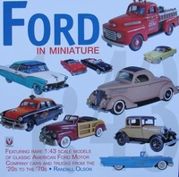 Ford in Miniature 1/43 - 20s to 70s