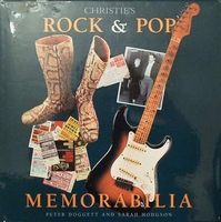 Christies Rock & Pop memorabilia