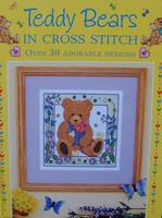 Teddy Bears in Cross Stitch