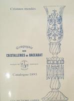 Cristalleries de Baccarat catalogue 1893
