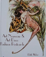 Art Nouveau & Art Deco Fashion Postcards