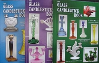 3 Volumes : The Glass Candlestick Book - Price Guide