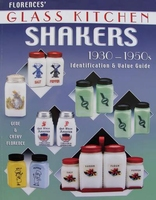 Glass Kitchen Shakers 1930 - 1950s - Price Guide