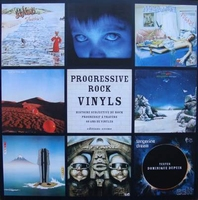 Progressive rock vinyls