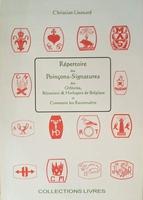 Repertoire des Poincons - Signatures de Belgique