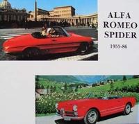 Alfa Romeo Spider 1955-1986