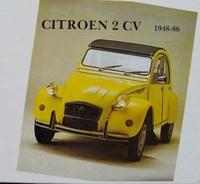 Citroen 2CV with Dyane, Méhari, Ami 6/8 - 1948-86 (citroën)