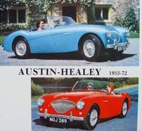 Austin-Healey 100/4, 100/6, 3000 & Sprite MK. I-IV 1953-1972