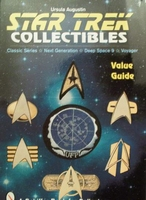 Star trek collectibles with price guide