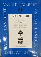 Val Saint Lambert catalogue 1913 (cristal et demi cr.moules)