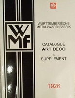 WMF metaal art-deco & supplement 1926