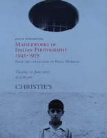 Christie's : Masterworks of Italian Photography 1945-1975