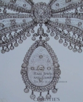 Christie's Auction Catalog : Rare Jewels and Gemstones