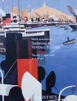 Christie's Auction Catalog : Shipping & Vintage Posters