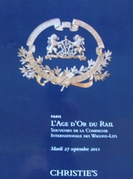 Auction Catalog : Compagnie Internationale des Wagons-Lits