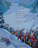 Christie's Auction Catalog : The Ski Sale 25-01-2012