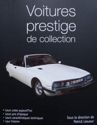 book voitures prestige de collection. Black Bedroom Furniture Sets. Home Design Ideas